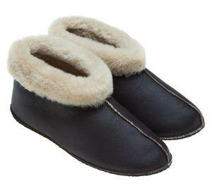 BABBI - apache nappa chocolat-femme - Slippers