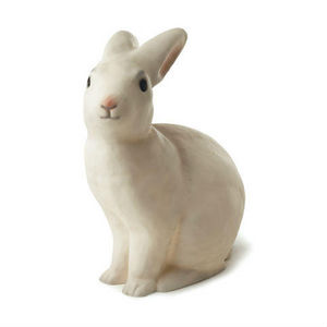 Egmont Toys - lapin - lampe à poser / veilleuse lapin blanc h25c - Children's Table Lamp