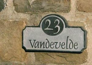 La Pierre -  - House Name Signs