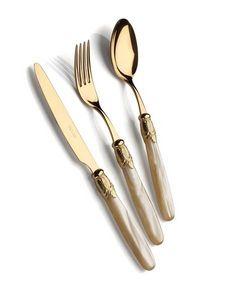 DOMUS & DESIGN - ischia all gold  - Cutlery