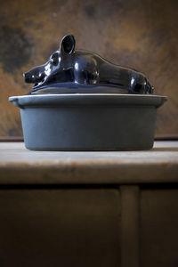 MANUFACTURE DE DIGOIN -  - Terrine Dish