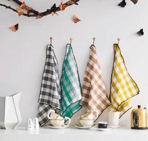 Maison De Vacances - canvas mini vichy - Tea Towel