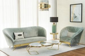 Green Apple Home style - la bohème - Living Room
