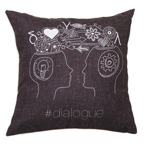 SOPHIA - #dialogue - Square Cushion