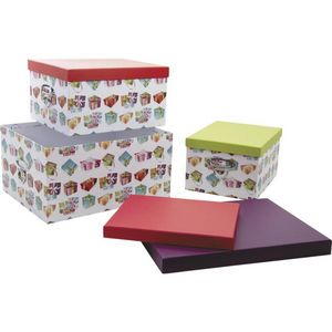 Aubry-Gaspard - lot de 3 boites - Storage Box