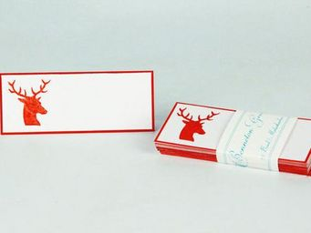 Benneton - cerf - Table Place Card