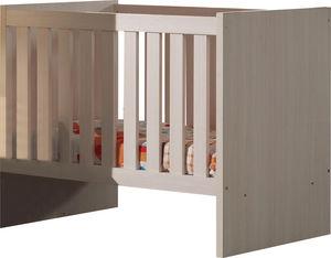 WHITE LABEL - lit évolutif pour bébé design coloris bouleau - Baby Bed