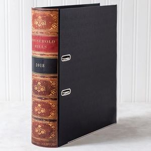The Manor Bindery -  - Lever Arch File