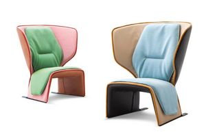 Cassina - gender - Armchair And Floor Cushion