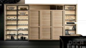 Doca - evolucion roble natural - Kitchen Furniture