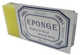 Antic Line Creations - porte éponge en métal blanc - Sponge Holder