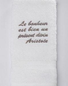 CHRISTINE SARAZIN - aristote - Towel