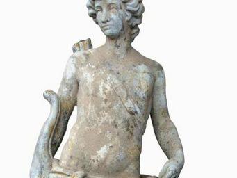 TERRES D'ALBINE - apollon - Statue