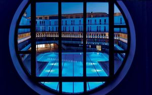 Agence Nuel / Ocre Bleu - piscine molitor - Architectural Plan