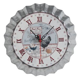 Aubry-Gaspard - horloge de cuisine oeufs frais 25.5cm - Wall Clock