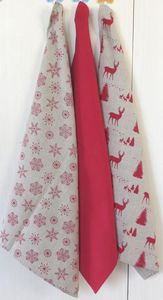 ITI  - Indian Textile Innovation - christmas - Tea Towel