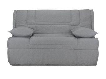 WHITE LABEL - banquette-lit bz matelas bultex 140 cm - speed bol - Reclining Sofa