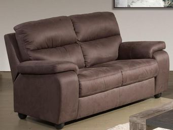 WHITE LABEL - canapé fixe 2p - acbar - l 175 x l 94 x h 96 - mic - 2 Seater Sofa