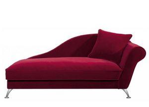 Home Spirit - méridienne fixe ambre accoudoir gauche tissu micro - Lounge Sofa