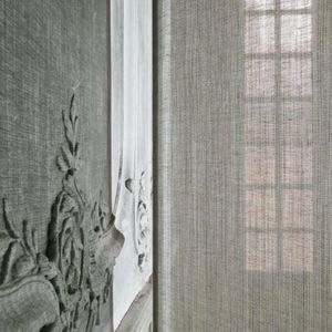 Le Crin - eperon rouille - Net Curtain