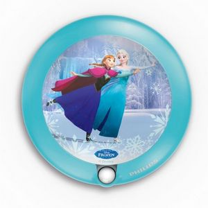 Philips - veilleuse la reine des neiges détecteur led d9,5 c - Children's Wall Lamp