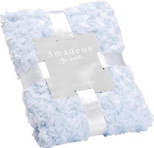 Amadeus - plaid enfant bleu layette - Children's Throwover