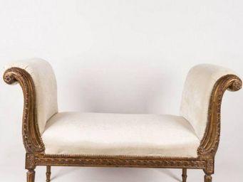 Artixe - méridienne - louis xv - Bench Seat