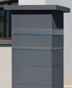Weser - platinum - Gate Pillar