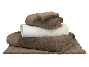 BLANC CERISE - drap housse - percale (80 fils/cm²) - uni - Towel