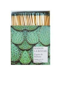 MAISON LA BOUGIE - figuier de barbarie - Match Box