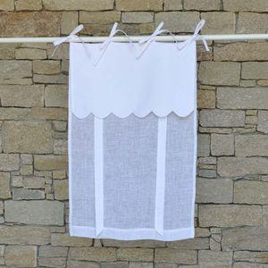 MAISON D'ETE - store île d'yeu blanc - Net Curtain