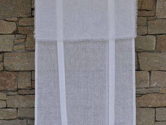 MAISON D'ETE - store saint-rémy blanc - Net Curtain