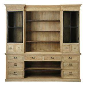 Maisons du monde - naturaliste - Open Bookcase