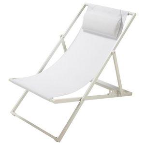 Maisons du monde - blanche - Deck Chair