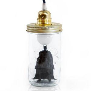 LA TETE DANS LE BOCAL - batman - Table Lamp