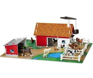 Micki Leksaker -  - Toy Farm Animals