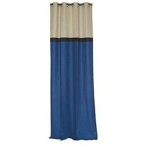 Novabresse - dedicace bleu - Eyelet Curtain