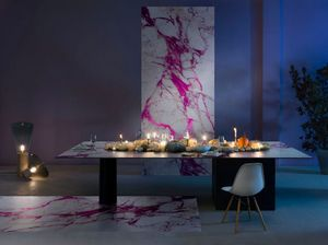 Sicis - vetrite tile  - Rectangular Dining Table