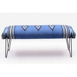 Mathi Design - banc kilim azur - Bench