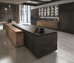 Snaidero - way materia-_. - Kitchen Island
