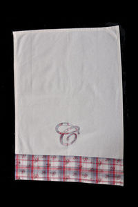 Coquecigrues - torchon dame tartine - Tea Towel