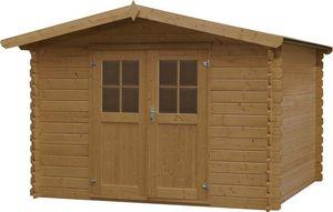 jardindeco - abri de jardin en bois vercors - Wood Garden Shed