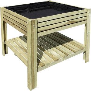 JARDIPOLYS - carré potager kub 80 cm - Garden Box