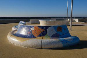 Absolut Mosaique - pertuis - Town Bench