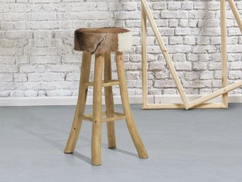 BELIANI - repose-pieds - Bar Stool