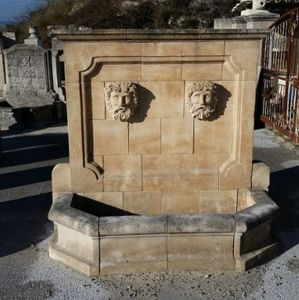 Serre Freres - a 176 - Wall Fountain