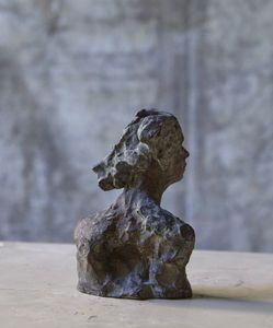 SYLVIE FALCONNIER - petite tête - Human Head