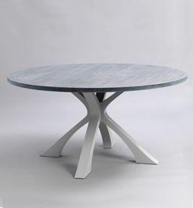 Tom Faulkner - exe-- - Round Diner Table