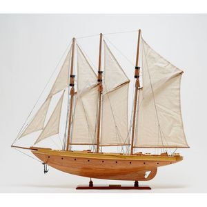 OLD MODERN HANDICRAFTS -  - Boat Model