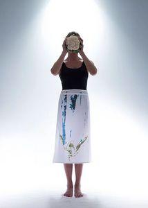 BALEINE ROUGE -  - Tea Towel